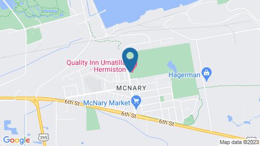 Quality Inn Umatilla - Hermiston Map