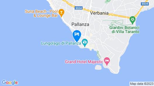 Europalace Hotel Map