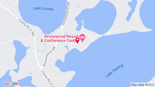 Arrowwood Resort and Conference Center Map