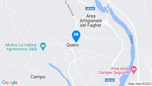 Casa Oliva Quero Map