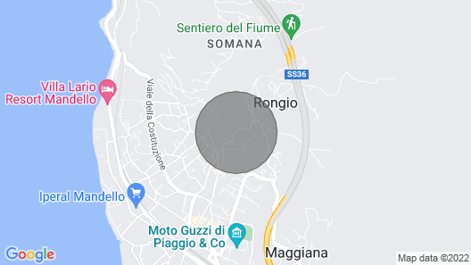 Lake Como Apartment Casa Stefania 2 Map