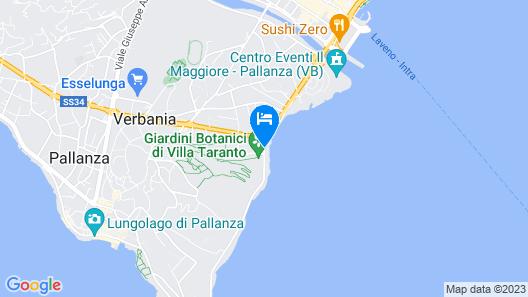 Casa Immacolata Map
