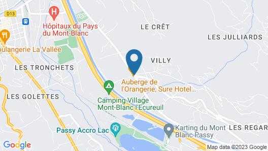 Auberge de l'Orangerie Map