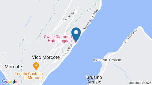 Swiss Diamond Hotel Map