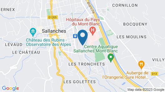 DIFY La vallée blanche - Sallanches Map
