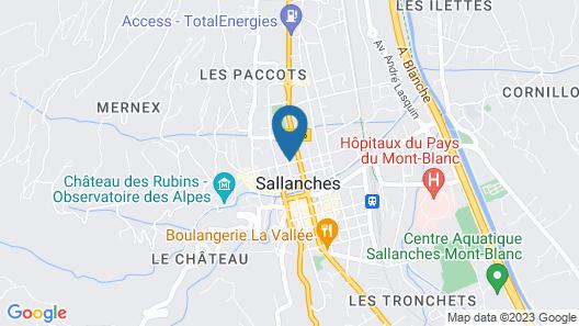 Appartement de Charme au Pays du Mont-blanc Map