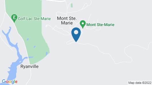 Upper Chalet 99 at Mont Ste Marie (ski-in, ski-out) Map