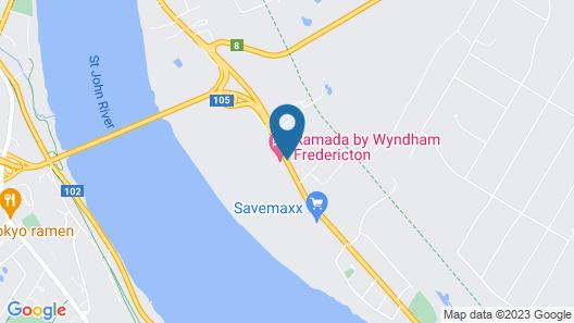 Ramada by Wyndham Fredericton Map