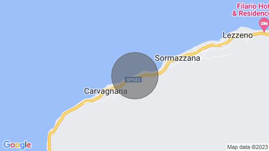 Bellagio Villas - La Traviata Directly on the Lake Map