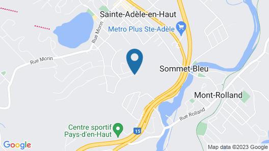 Le Chalet des Laurentides Map