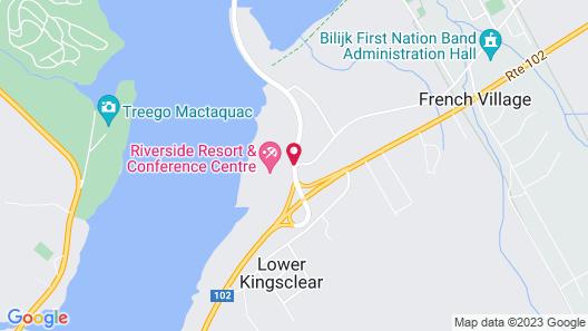 Riverside Resort & Conference Centre Map