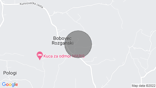 2 Bedroom Accommodation in Bobovec Rozganski Map