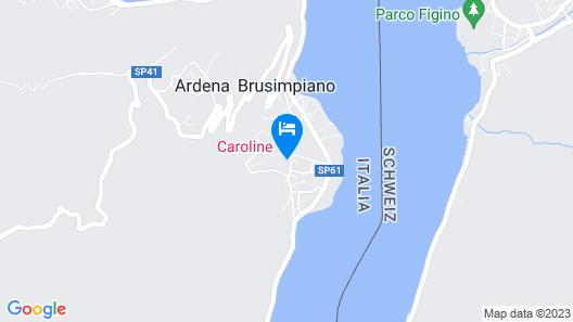 Hotel Caroline Map