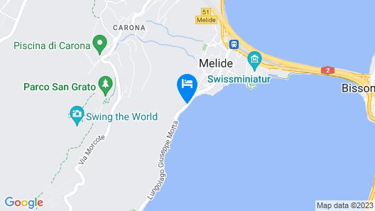 Hotel Garni Battello Map