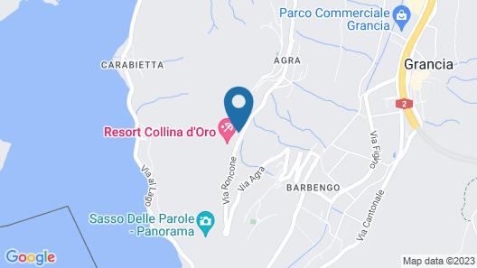 Resort Collina d'Oro Map