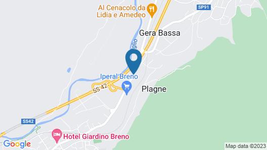 B&B Benessere Lacasanera Map
