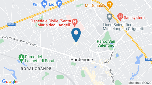 Hotel Damodoro Map