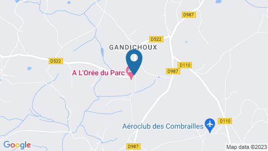 A l'Orée du Parc Map