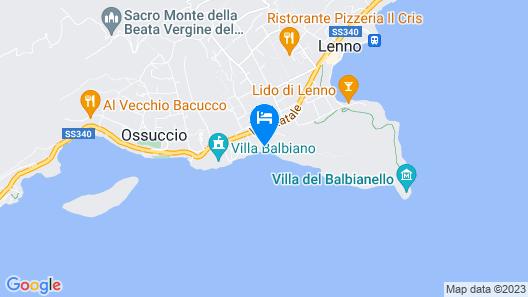 Villa Parisi Map