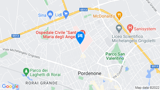 Hotel Montereale Map