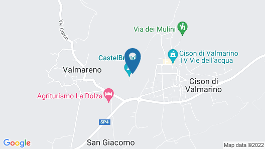 Castelbrando Map