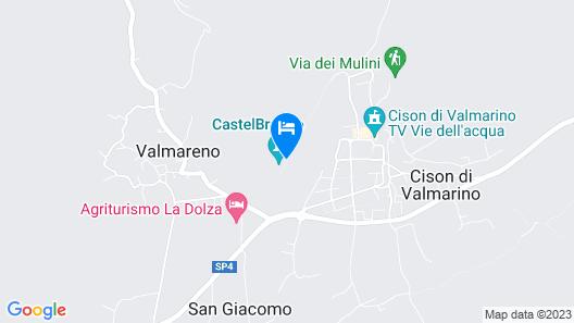 Castelbrando Map