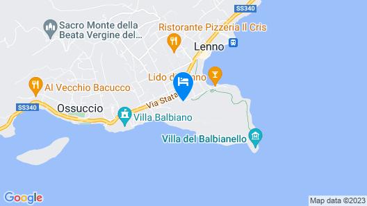 Albergo Ristorante Lavedo Map