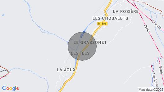 Chalet Tré la Vieux, Argentière , France Map