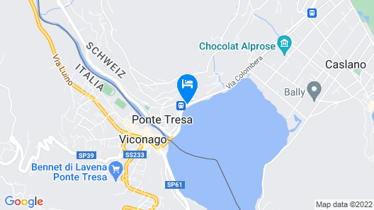 Tresa Bay Hotel Map