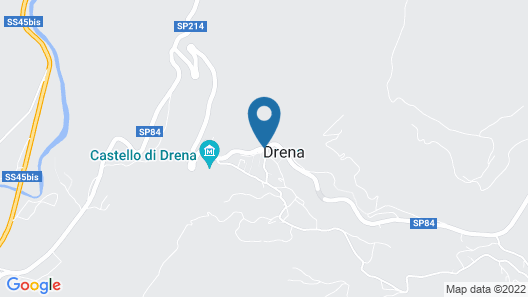 Chalet Resort Drena Map