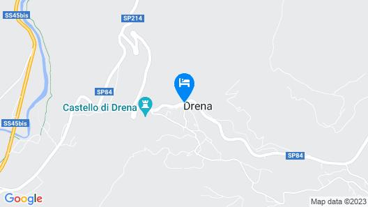 Chalet Resort Drena Map