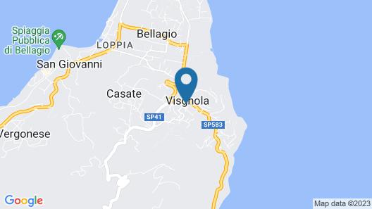 Alla Torretta B&B Map