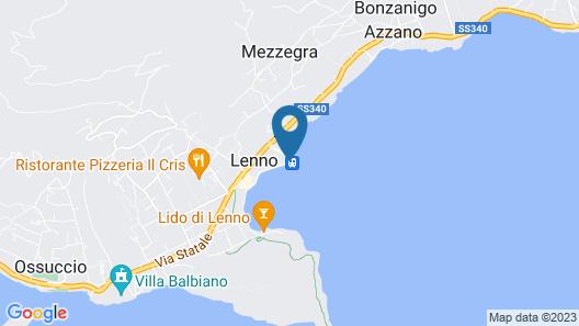 Albergo Lenno Map