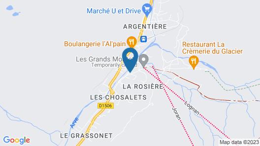Hôtel Les Grands Montets Map
