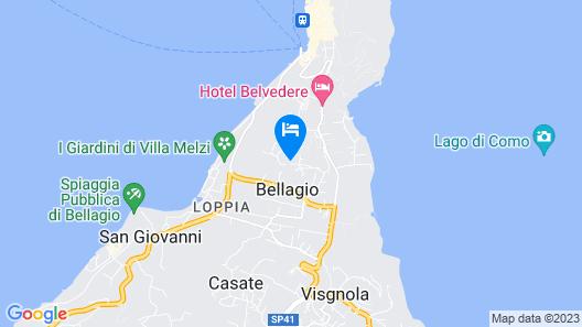 Andirivieni Bellagio Guest House Map