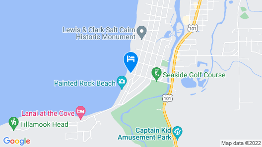 Inn at the Shore Map