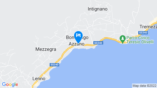 Azzano Holidays Bed & Breakfast Map