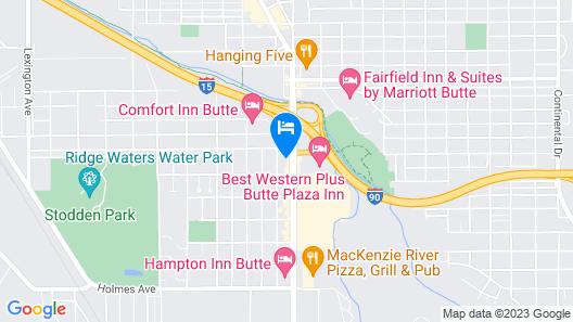 Super 8 by Wyndham Butte MT Map