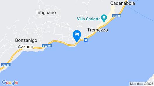 Hotel La Darsena Map