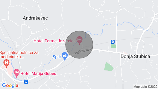 Luxury Mobile Homes Camping Terme Jezercica 11 Map