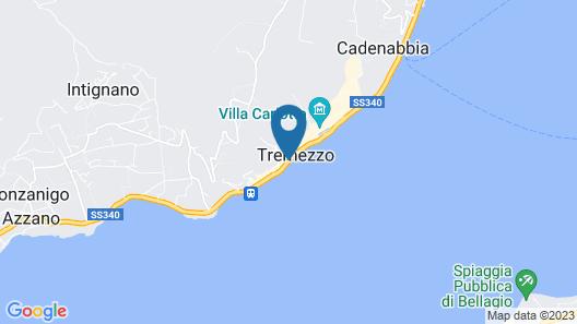 Grand Hotel Tremezzo Map