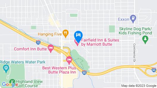 Fairfield Inn & Suites by Marriott Butte Map