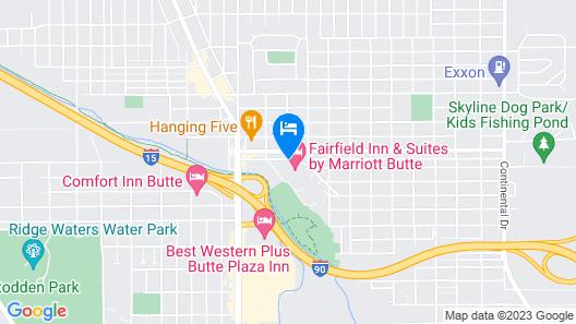 La Quinta Inn & Suites by Wyndham Butte Map