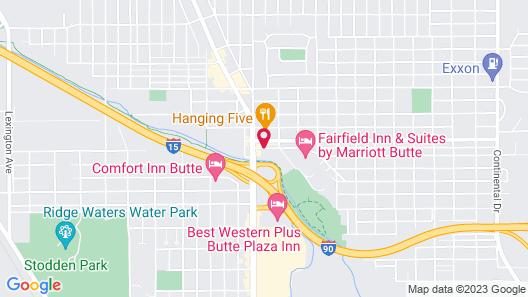 Days Inn by Wyndham Butte Map