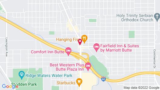 Holiday Inn Express Hotel & Suites Butte, an IHG Hotel Map