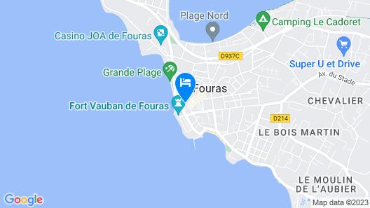 Le Grand Hôtel des Bains SPA Map