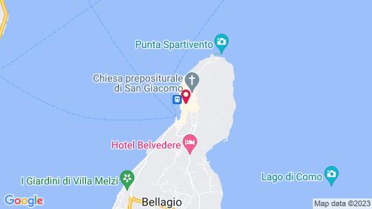 Hotel Bellagio Map