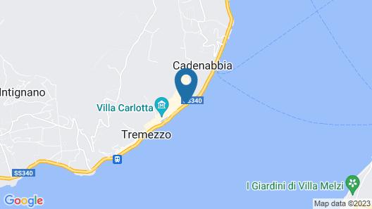 Grand Hotel Cadenabbia Map