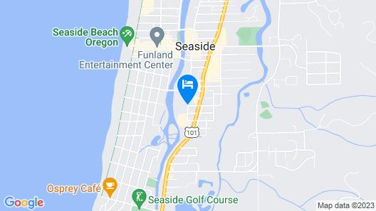 Red Lion Inn & Suites Seaside Map