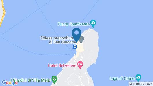 Grand Hotel Villa Serbelloni Map